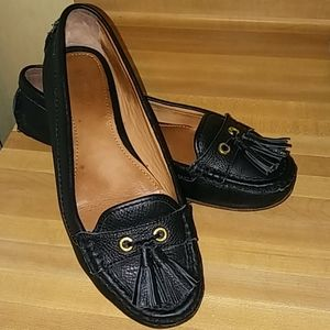 COACH 'Isa' Tassle Driving Loafers